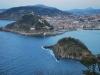Vista de San Sebastián desde el Monte Igueldo